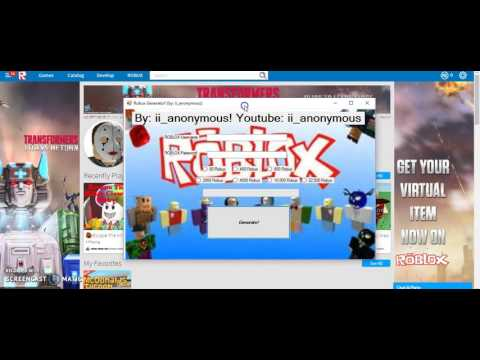 Real Free Robux Generator No Survey How To Get Free Robux Robux Generator No Survey Link Updated Youtube