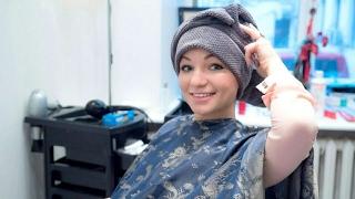Привела волосы в порядок перед поездкой в Москву :)