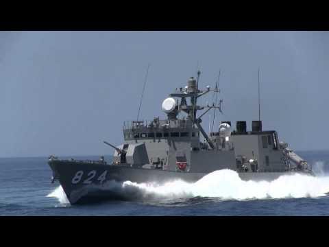 M140725C 海上自衛隊舞鶴地方隊 展示訓練