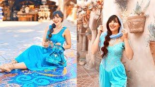 Princess Jasmine Adult Costume DIY // Jasmine Disneybound Outfits
