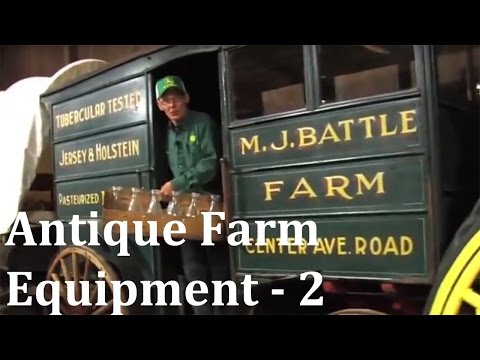 Antique Farm Equipment Renner Farm - Part 2