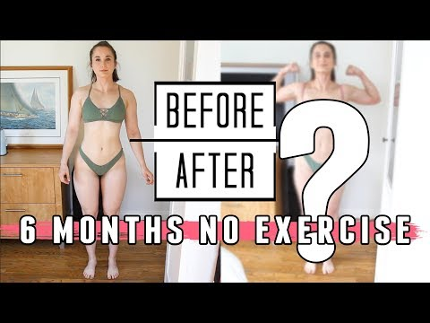 I QUIT EXERCISE FOR 6 MONTHS | Did I Gain Weight?? | SURPRISING CHANGES