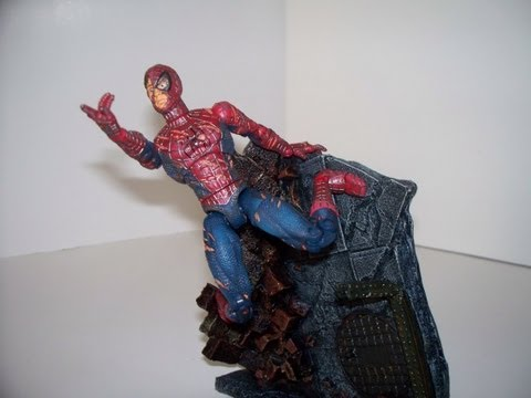 Spiderman man spider transformation