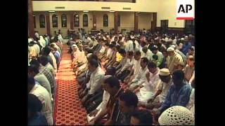 USA: MUSLIMS REACTION TO US ATTACKS IN AFGHANISTAN & SUDAN