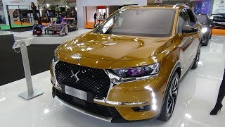 2018 DS 7 Crossback Grand Chic BlueHDi 180 - Exterior and Interior - Bologna Motor Show 2017