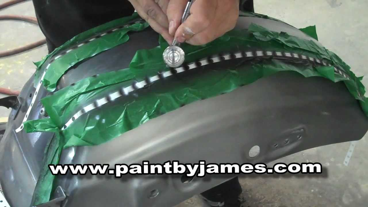 How To Airbrush Rivets Youtube