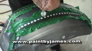 How to Airbrush rivets