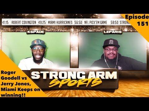 Miami Hurricanes Keep Winning | Bills Blames Tyrod Taylor | Strong Arm Sports Podcast Ep151