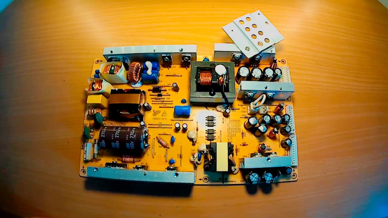 Power Supply Repair - Common Problem of a SMPS - YouTube