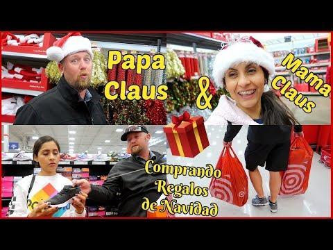 VLOGMAS #13 Papa Claus & Mama Claus Comprando Regalos De Navidad - IsabelVlogs