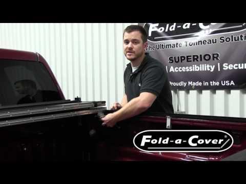 Removing a Fold-a-Cover Hard Folding Tonneau Cover
