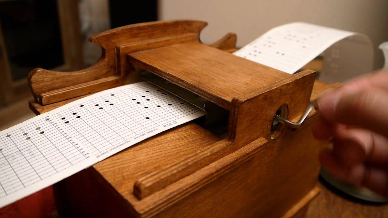 Boite à musique Componium Romain Lateltin A la source  ~ Boite Musique Bois
