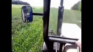 Życie zwyczajnego rolnika #9 - Opryskiwanie przenicy i awaria na koniec