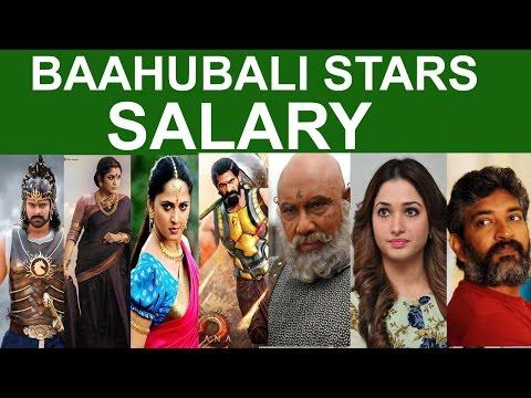 Bahubali Stars Salary