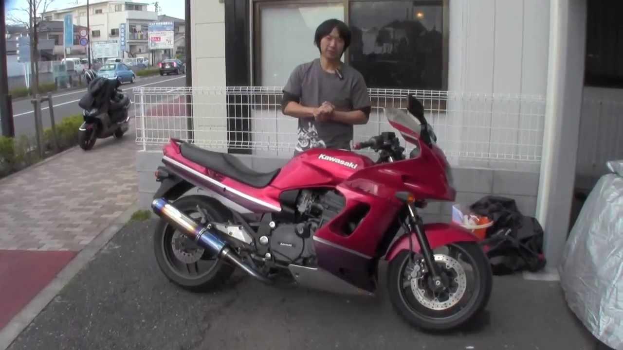 画像: GPZ1100 水冷 参考動画 ZZR1100のエンジン! www.youtube.com