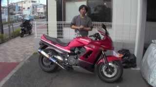 GPZ1100 水冷 参考動画 ZZR1100のエンジン!