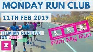 Film My Run LIVE | Monday Run Club