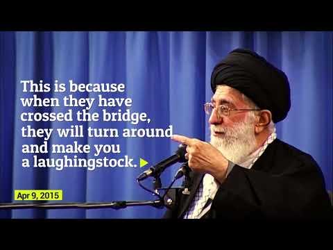 Ayatollah Khamenei's prediction on JCPOA came true