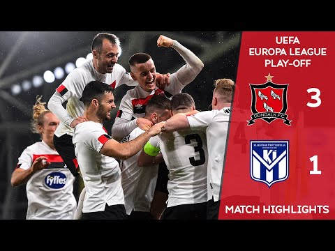 HIGHLIGHTS | Dundalk 3-1 Ki Klaksvik  - UEFA Europa League Play-off
