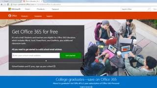 Download and Install Office 2016 - Free Office For Students