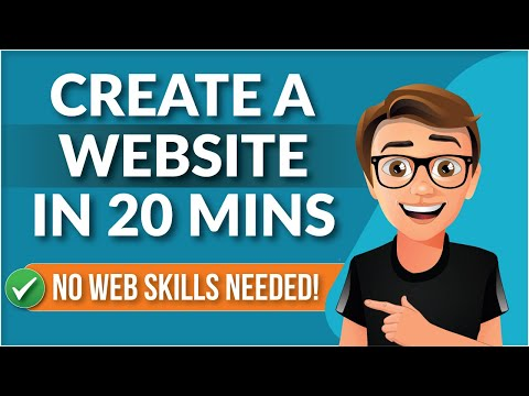 How To Create A Website For Beginners [IN 20 MINUTES]