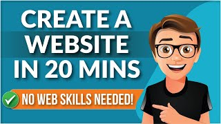 Video How To Create A Website For Beginners [IN 20 MINUTES] download MP3, 3GP, MP4, WEBM, AVI, FLV Agustus 2018