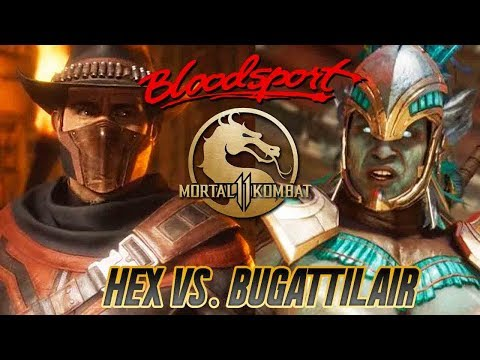 Mortal Kombat 11 - Hex (Kotal Kahn) Vs Bugattiblair (Erron Black) [1080p/60fps]