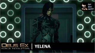 Yelena Fedorova rus Елена Фёдорова ist eine der Antagonisten im Spiel Sie ist mechanisch augmentiert und kann sich sowohl fr das menschliche Auge
