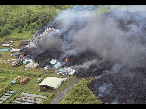 "Breaking ""Hawaii Lava Destroys Part Of Geothermal Power Plant"""