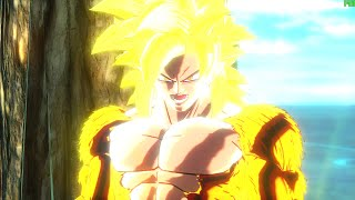 Dragon Ball Xenoverse PC (144 FPS) Golden Super Saiyan 4 Goku Gameplay