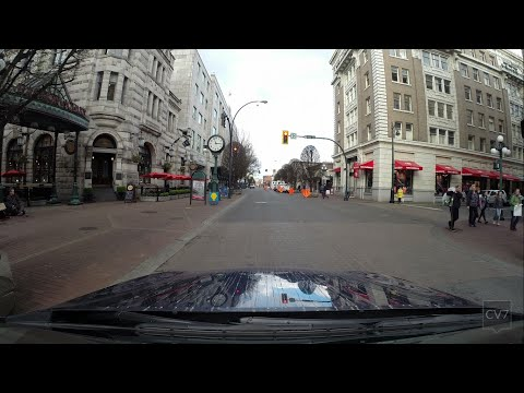 Government Street, Victoria BC (Time Lapse)