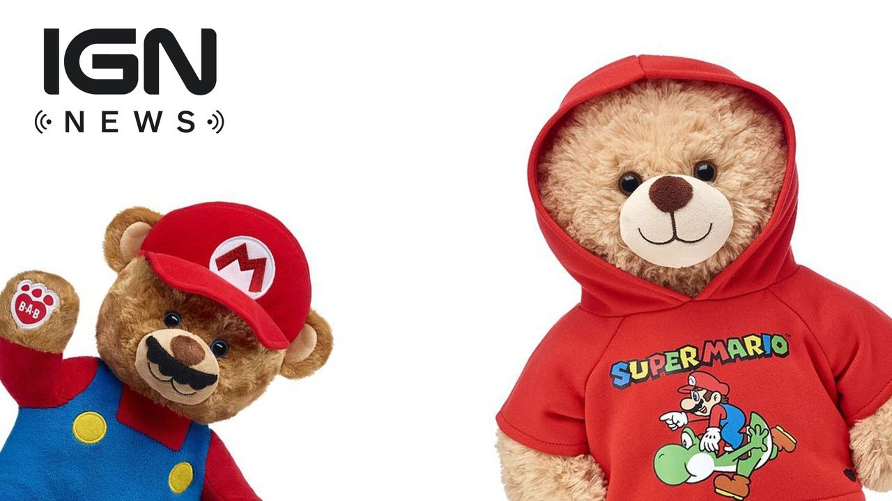 dffb73b88f7 Mario-Themed Build-a-Bears Now Available - IGN News - YouTube
