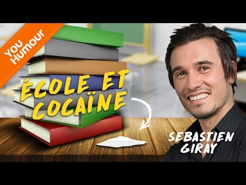 SEBASTIEN GIRAY - Ecole et cocaïne