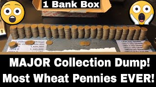 EPIC MEGA Jackpot Find - Insane Wheat Penny Harvest From a Bank Box!?!