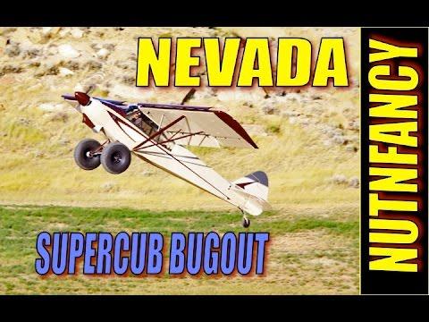SuperCub Bugout, Nevada Desert