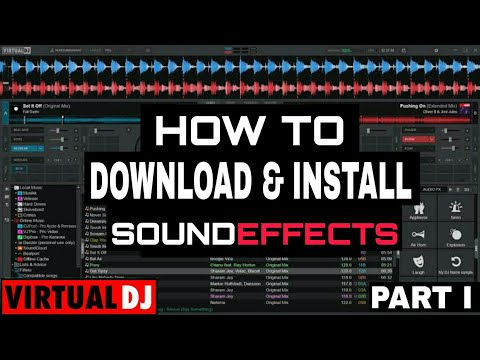 virtual dj sound effects free download
