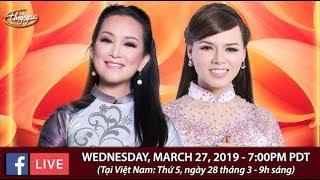 Livestream với Hương Thủy & Băng Tâm - March 27, 2019