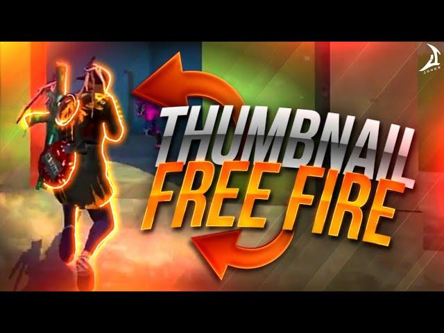 Como Fazer Thumbnail Avancada De Free Fire No Celular Jones Youtube