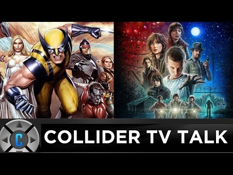 "New X-Men TV Series,  Netflix's ""Stranger Things"" Review - Collider TV Talk"