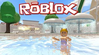 Roblox:  ROBLOXian Waterpark, RoQuatica Waterpark and ROBLOXian Pool
