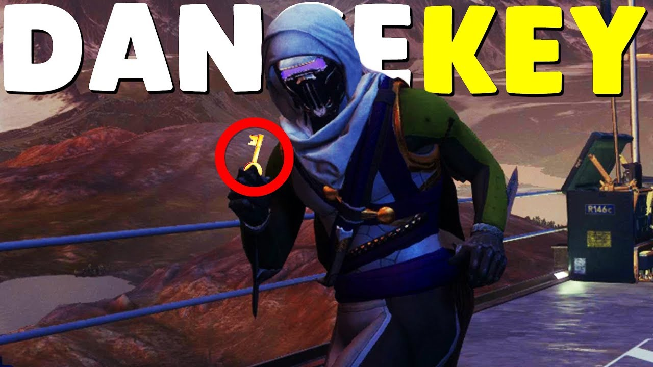 Destiny Dance Gif: HOW TO GET THE DANCE PARTY KEY