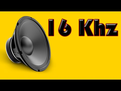 The most annoying high pitched sound, at 16Khz