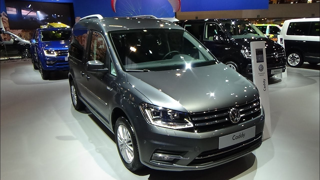 2018 Volkswagen Caddy Highline - Exterior and Interior - Auto Show Brussels  2018 - YouTube