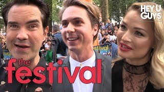 Premiere Interviews: The Festival with Joe Thomas, Emma Rigby, Jimmy Carr, Hannah Tointon & more