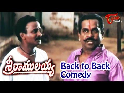 Sri Ramulayya  Movie Comedy Scenes || Back 2 Back || Mohan Babu || Soundarya || #Brahmanandam