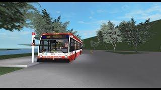 TTC 2018 Novabus LFS 175 Bluffers Park Ride-along - Roblox ~ Unit #8962