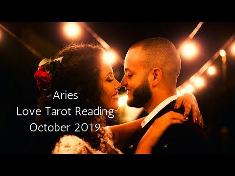Aries, A Beautiful Gift Awaits You // Psychic Tarot Reading October 2019