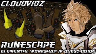 Runescape Elemental Workshop 4 Quest Guide HD