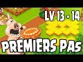 Premiers pas : level 13 - 14 ! Hay Day