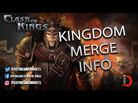 KINGDOM MERGE ADDITIONAL INFORMATION - Clash Of Kings